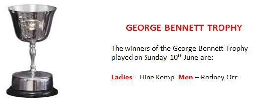 George Bennett Winners 2018