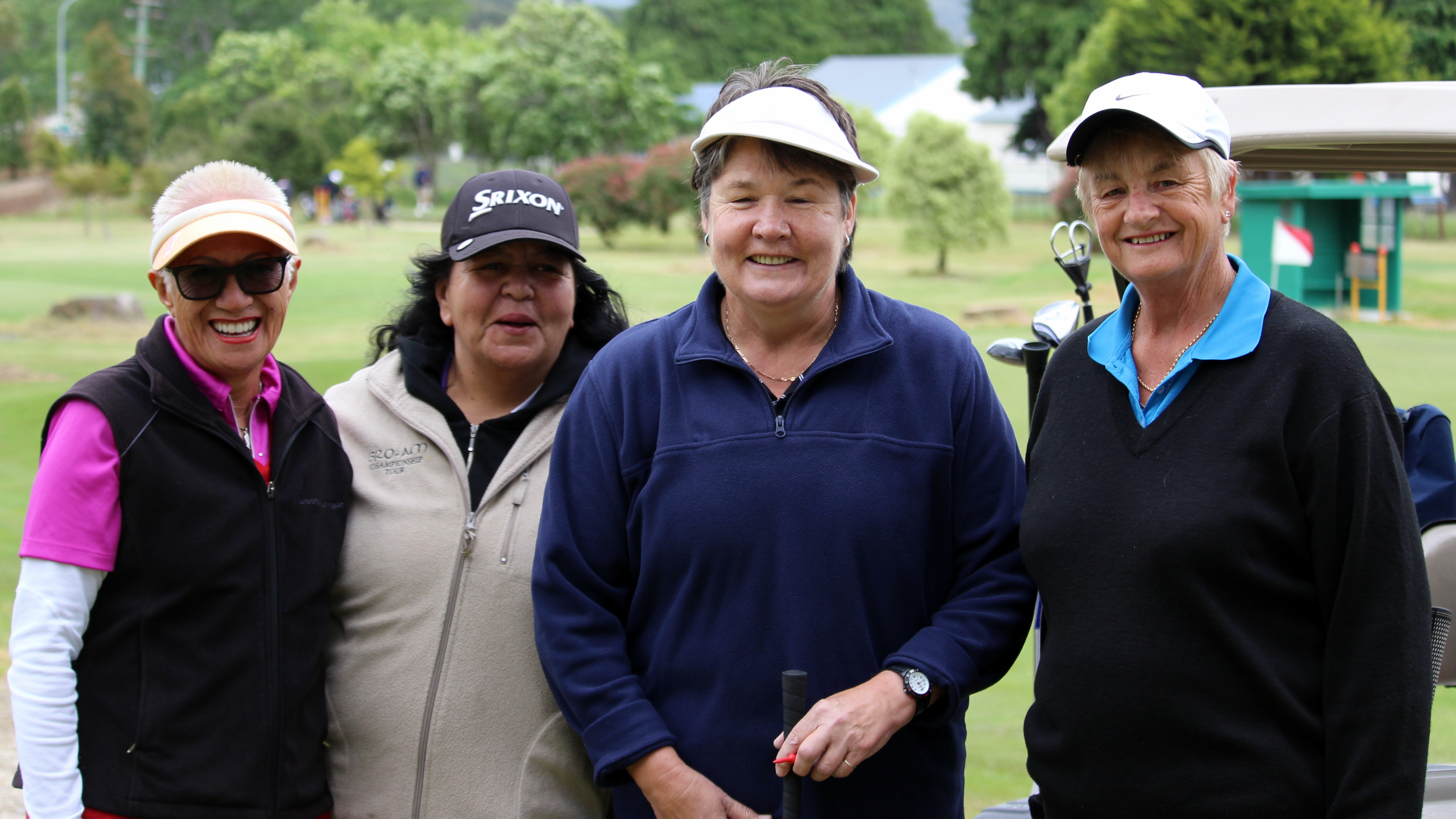 Ladies at the open