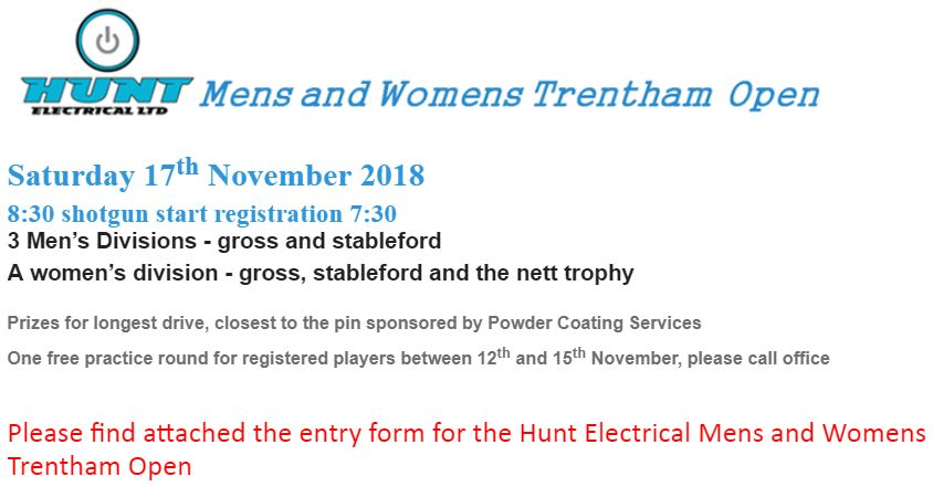 Trentham Open 2018 Facebook